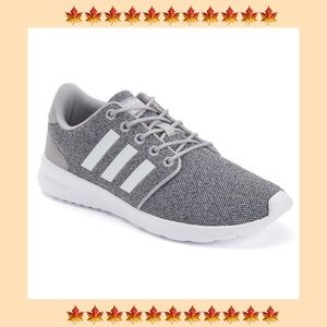 Grey adidas women's sneakers 6.5